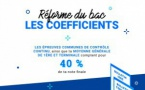 Les coefficients des épreuves du bac version Réforme
